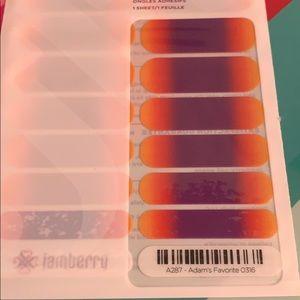 Jamberry wrap- Adam's Favorite